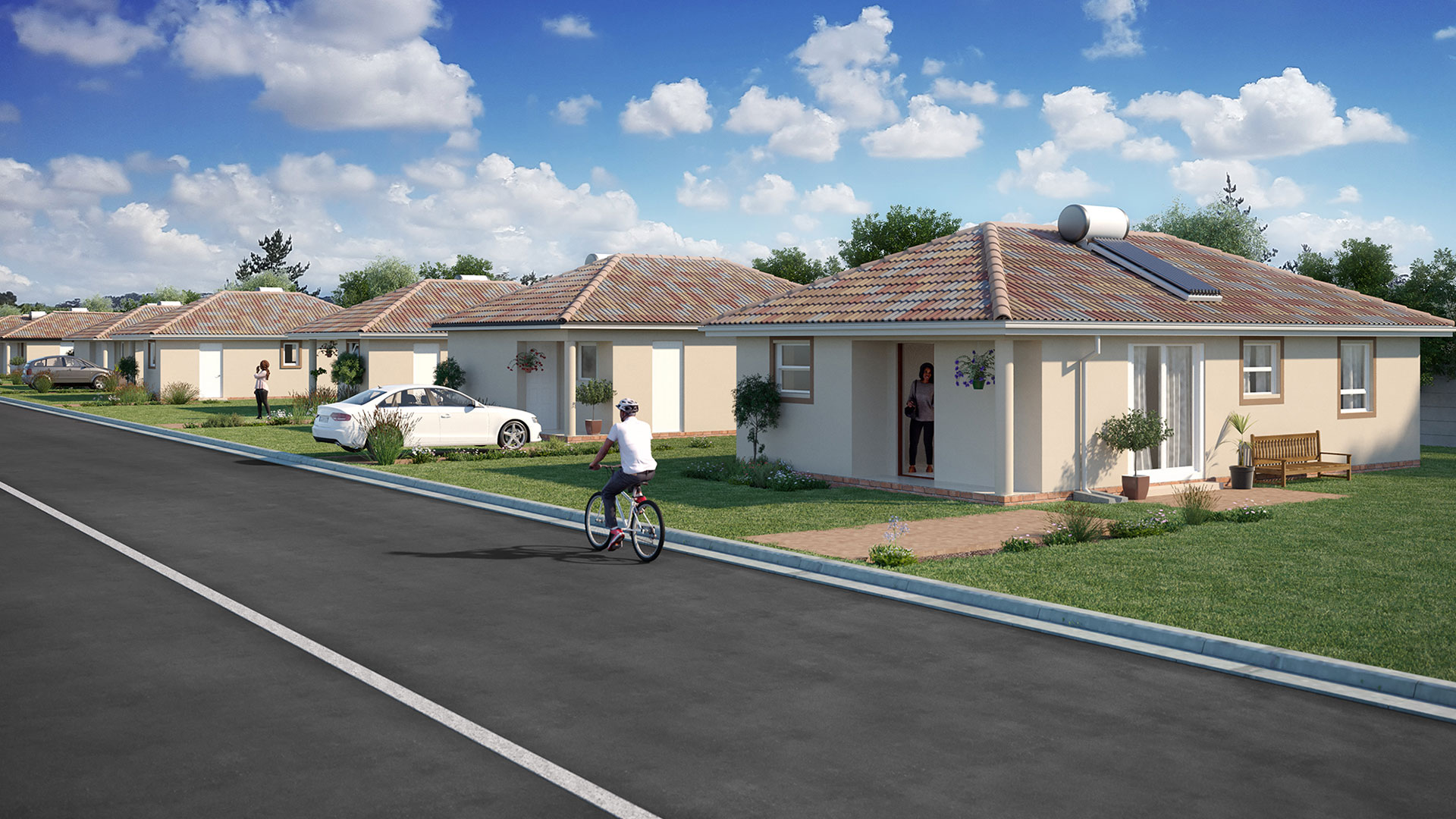 Azaadville Gardens Affordable Homes In The West Of